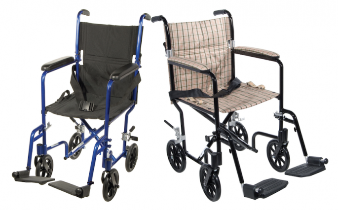 Light Weight Transport Chairs